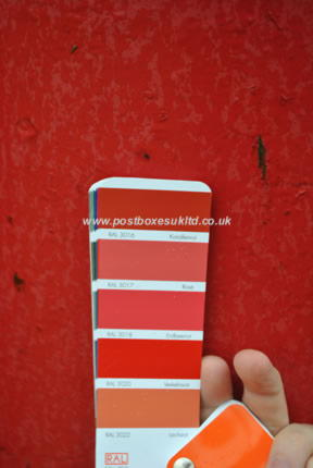 What RAL colour is a British red pillar box? Post Boxes UK investigates Post Boxes UK