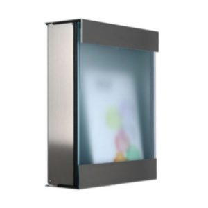Glass 360 lite contemporary designer letter mail postboxes